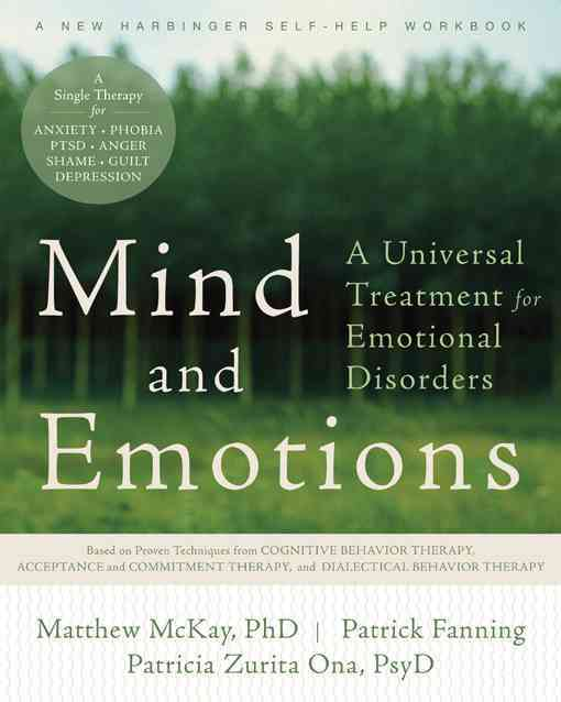 Mind and Emotions By McKay, Matthew/ Fanning, Patrick/ Zurita Ona, Patricia